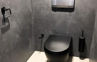 inrichting toilet